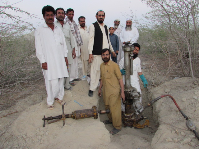 Inauguration of the gas pipeline in Ghatti Dor, Gwadar