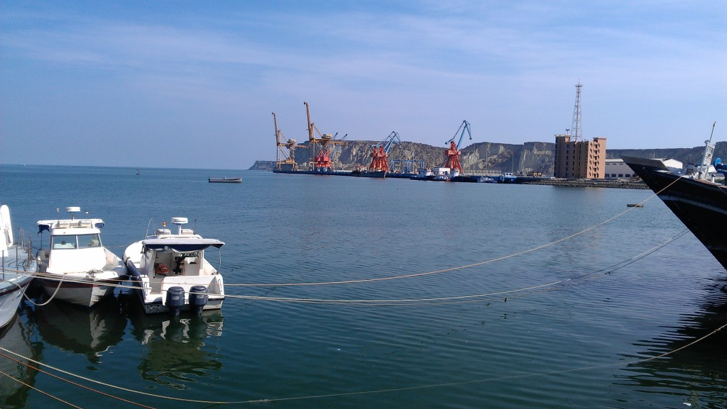 A view of Gwadar port
