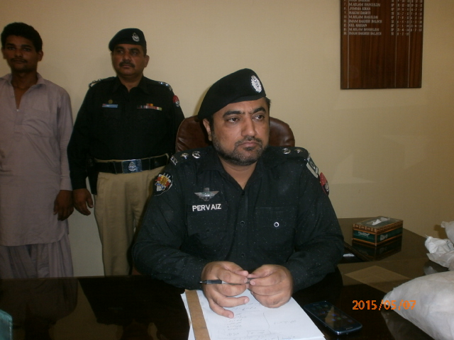 DPO Parvez Umrani reveals the details of the raid