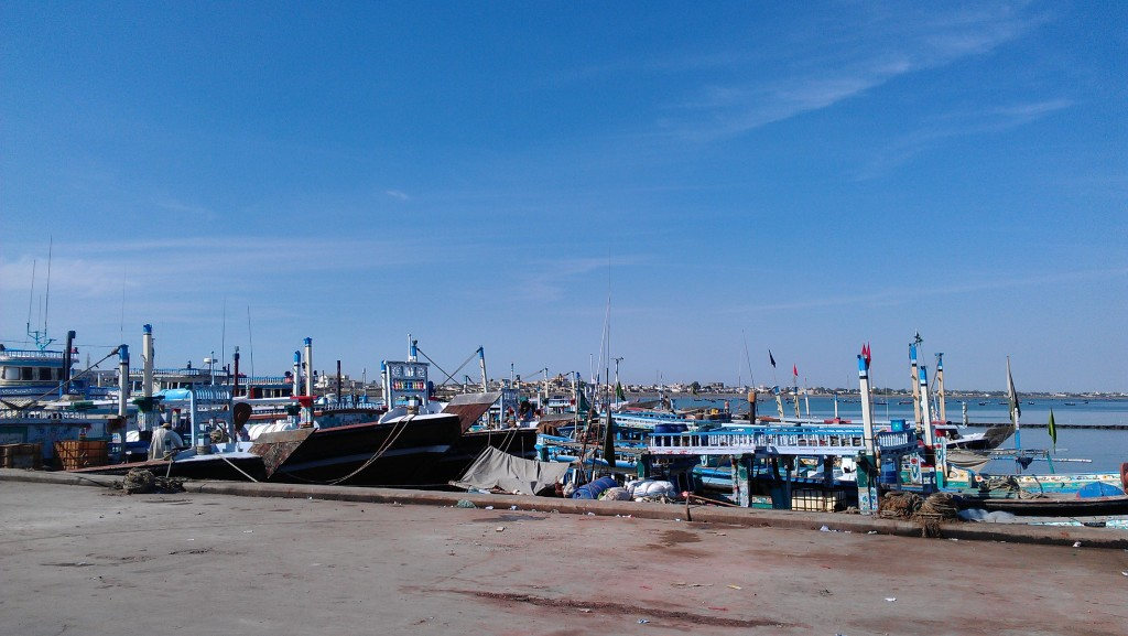 A view of boats near Gwadar port